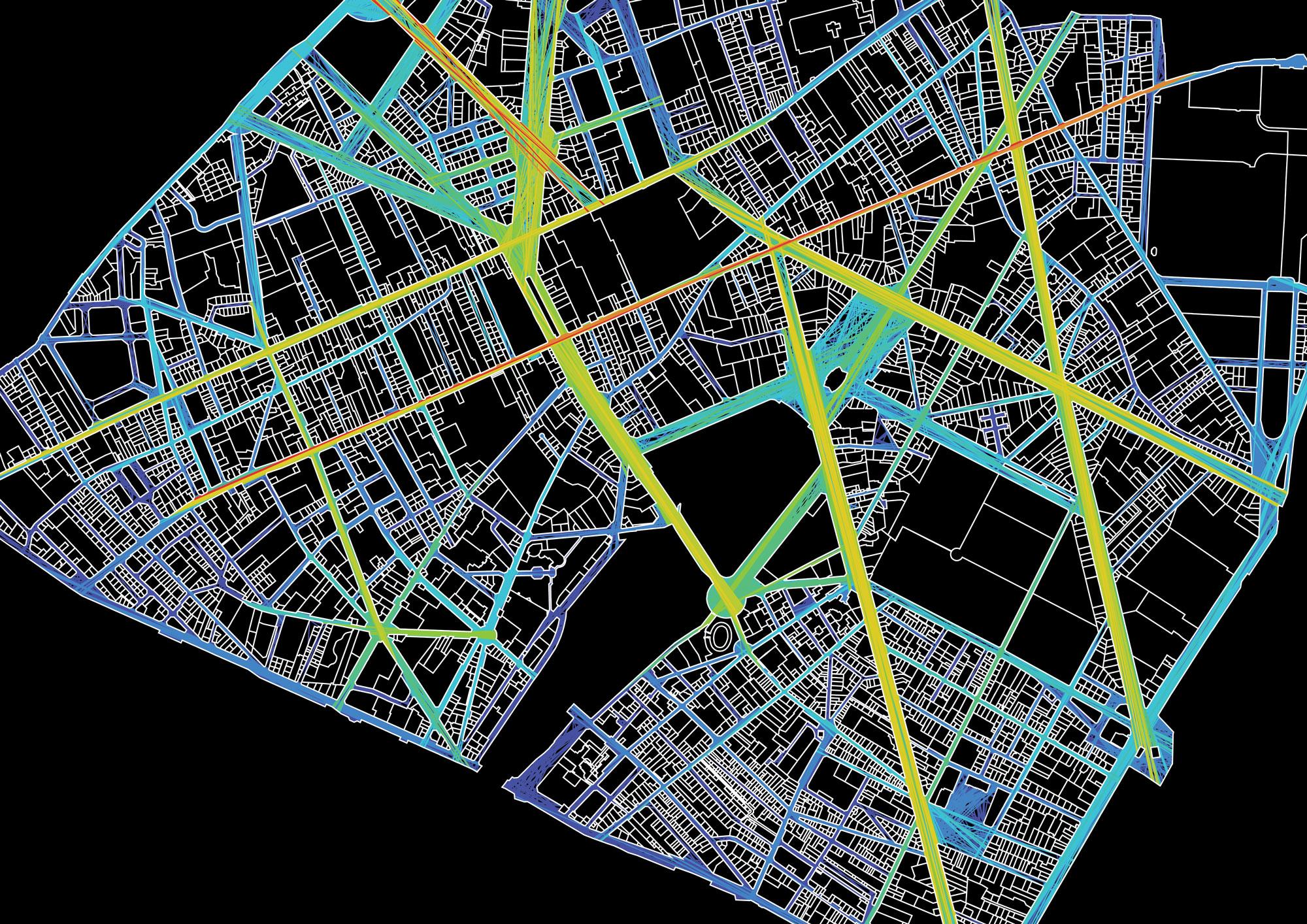 Maine-Montparnasse Urban Regeneration, Spatial Analysis of Proposed Master Plan